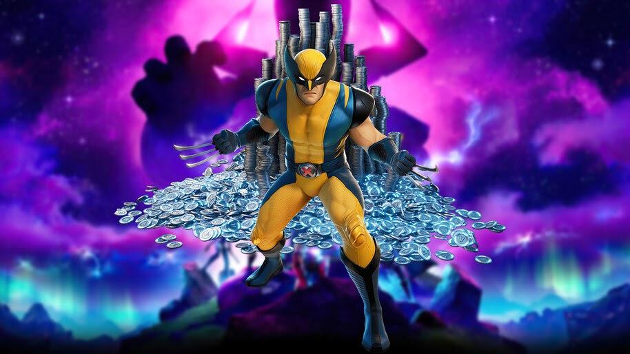 Fortnite Wolverine V Bucks 4k Wallpaper 7 2581