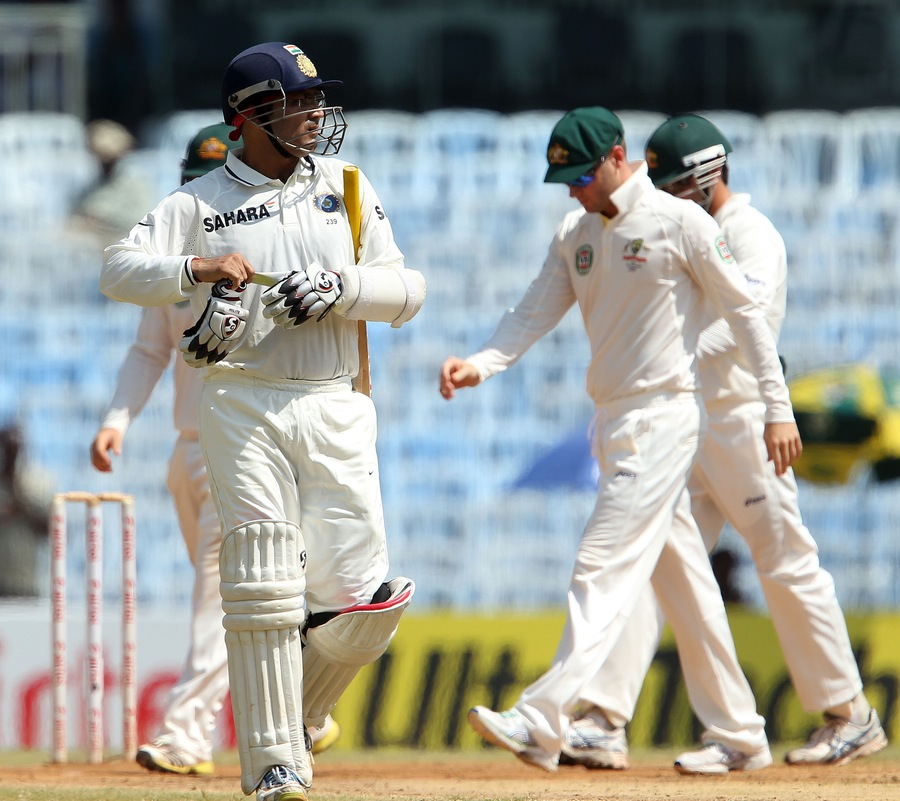 India v Australia, 1st Test, Day 5, Session 1 Images ~ Indian Cricket Team Updates