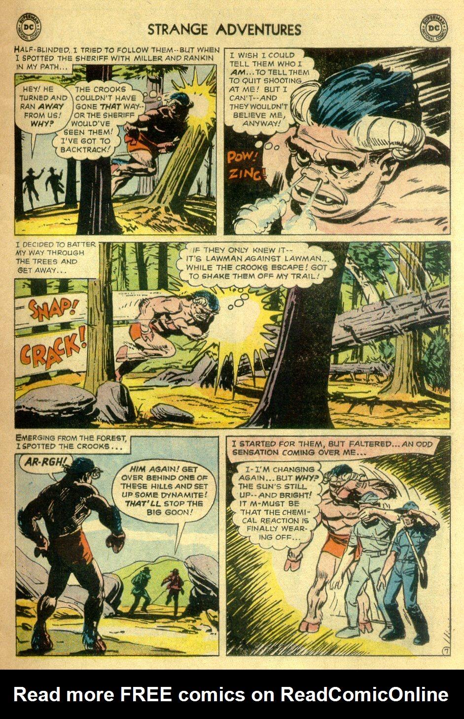 Strange Adventures (1950) issue 172 - Page 9