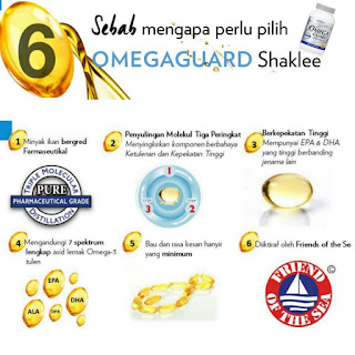 6 Sebab Kenapa Omega Guard Shaklee Patut Jadi Pilihan Anda
