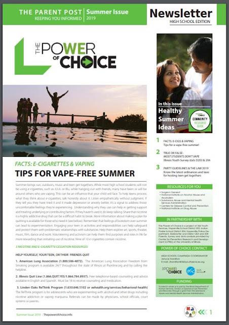 Neuqua Valley News: Power of Choice Summer 2019 Newsletter