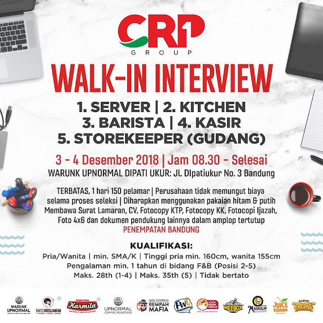 Walk In Interview CRP Group