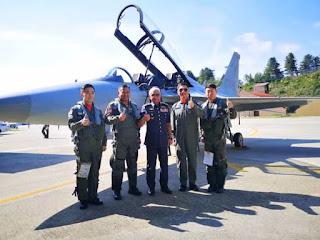 AU Malaysia Uji Terbang KAI FA-50 Fighting Eagle