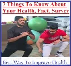 Health, Survey, Fact, Points, Exercise