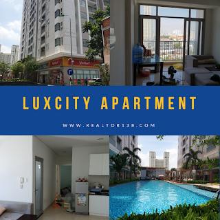 bán chung cư Luxcity 3 phòng ngủ đường huỳnh tấn phát quận 7