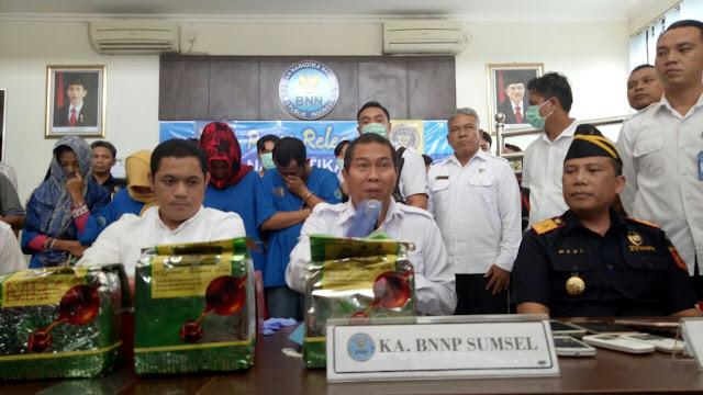 Bawa 4 KG Sabu Dari Aceh, 4 Kurir Diciduk
