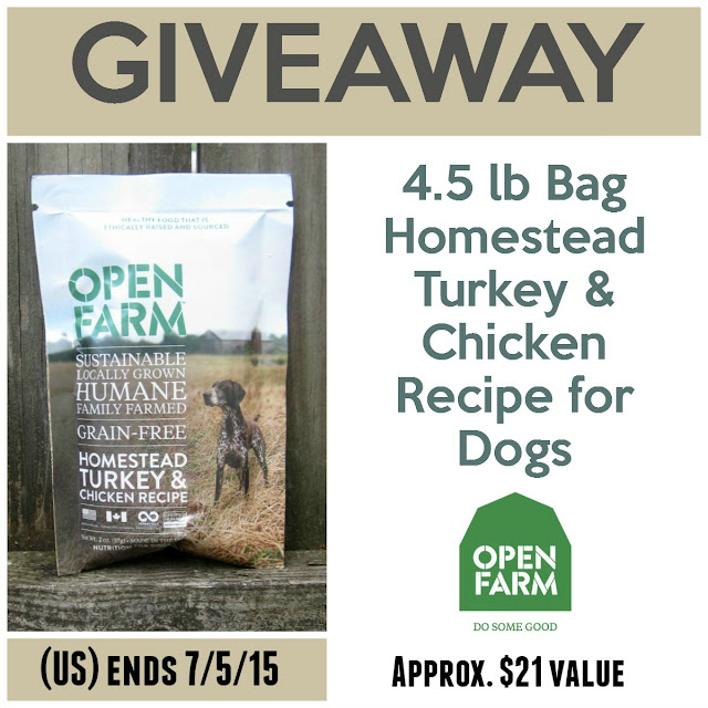 Reviews Chews Amp How Tos Review Giveaway Open Farm Dog Food