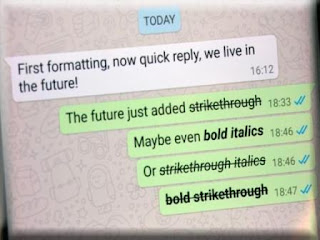 Cara Membuat Teks Tebal dan Miring di WhatsApp Cara Membuat Teks Tebal dan Miring di WhatsApp