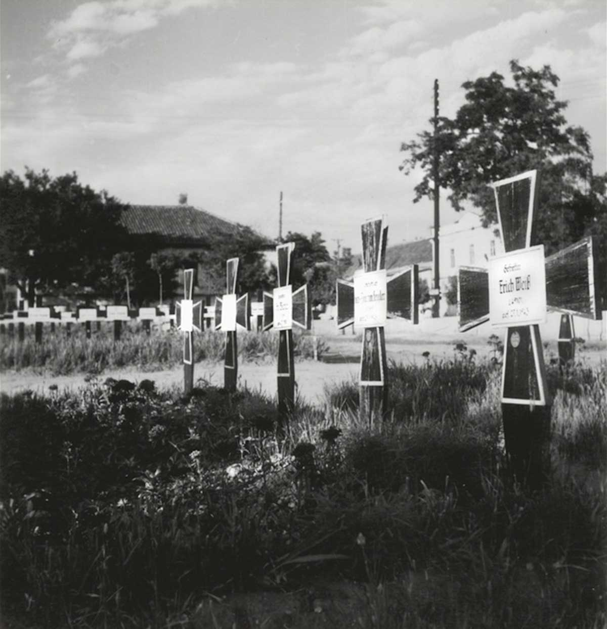 Wehrmacht cemetery.