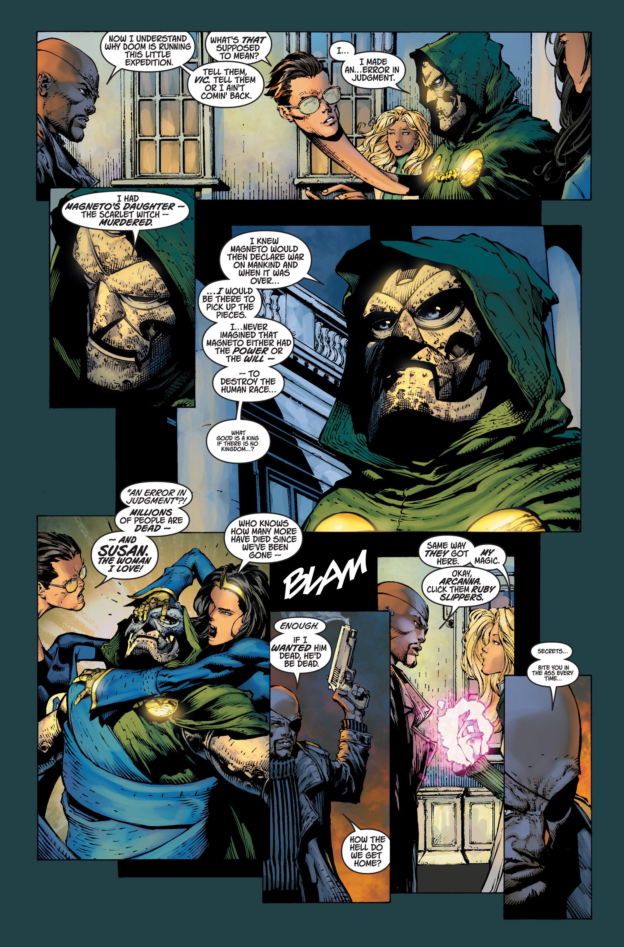 Read online Ultimatum comic -  Issue #4 - 13