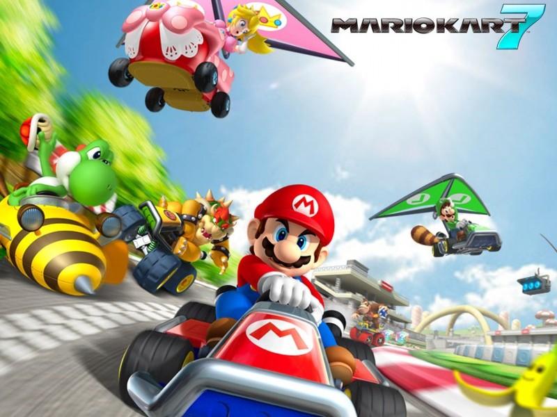 SuperPhillip Central: Rank Up! - Mario Kart 7 Tracks