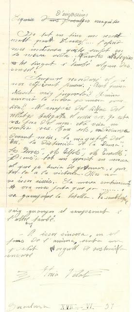 Notas manuscritas de la ajedrecista Glòria Velat
