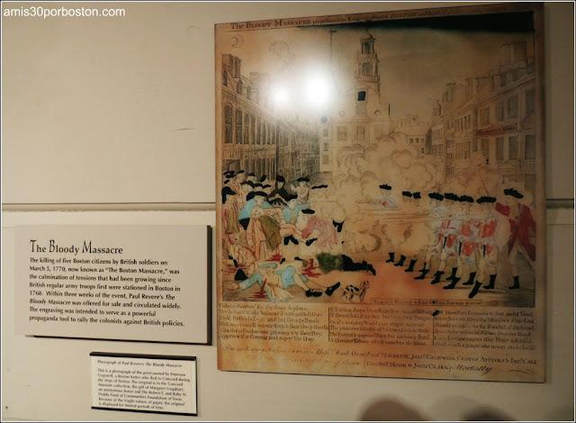 Museo Concord: Masacre de Boston por Paul Revere