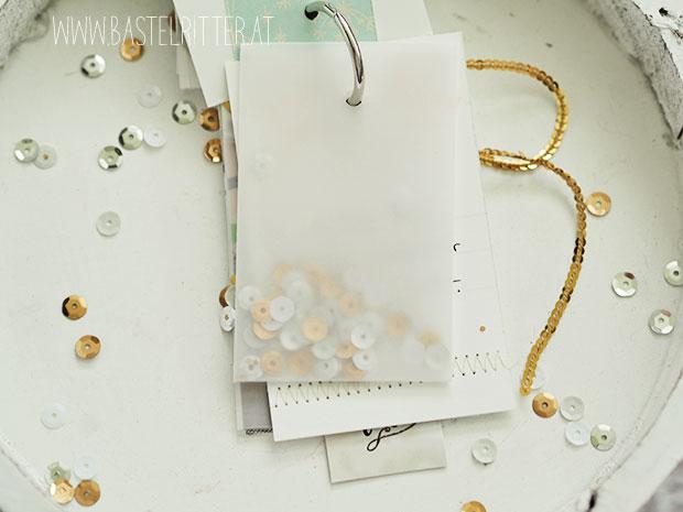 minialbum stampin up gold weiss velum buchbindering