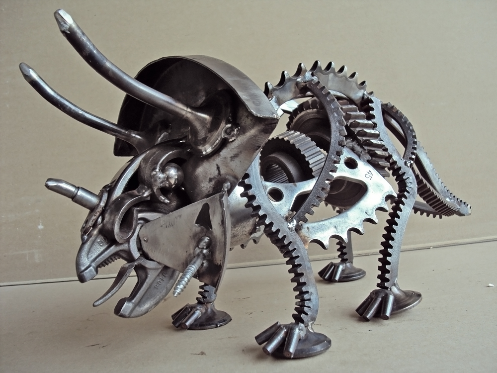 Scrap Metal Artwork | all about photo