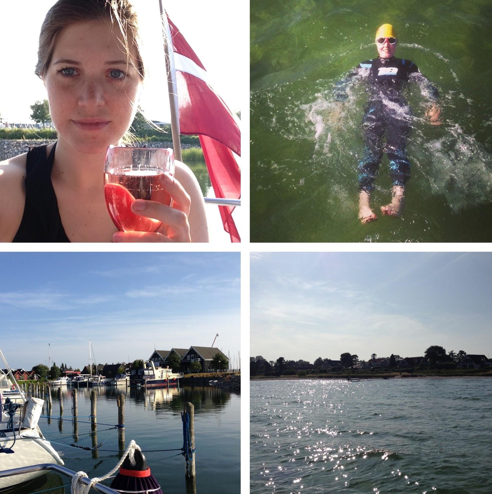 bådtur, båd, hav, havn, hundige, sommer, sol, familie, svømning, svømmetræning, strand, mosede, greve, sejltur, sejlads, svømmebriller, svømmedragt, badehætte
