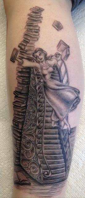 Amazing Book Tattoos