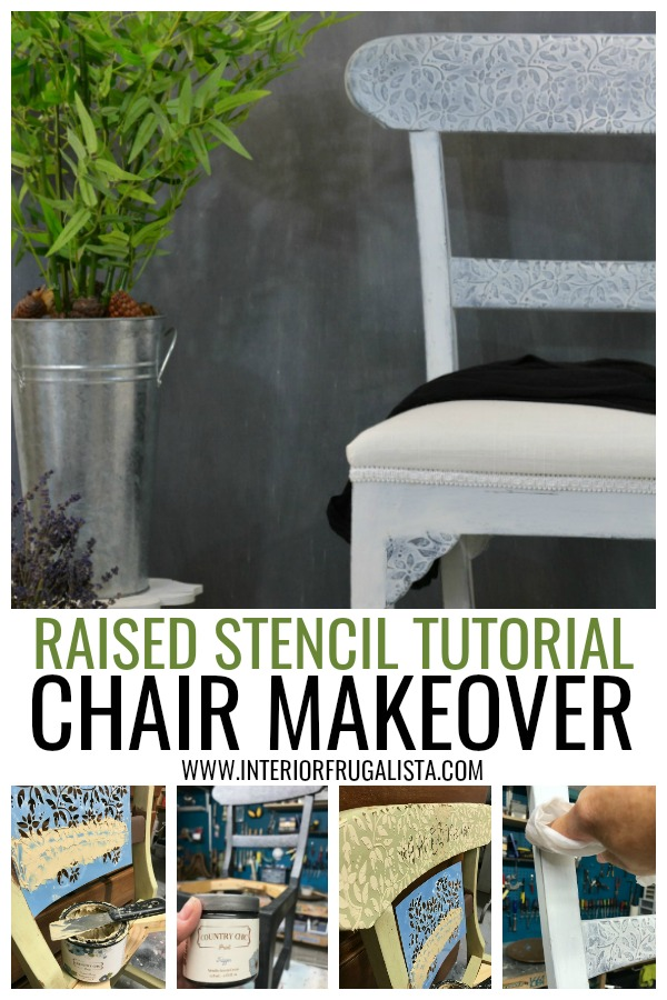 Raised Stencil Tutorial