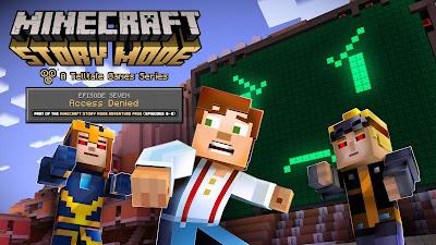 โหลดเกมส์ Minecraft story mode episode 7