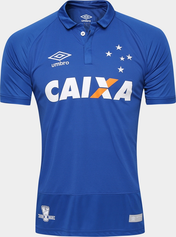 Umbro apresenta as novas camisas do Cruzeiro - Show de Camisas a754ad4a65f50