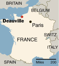 Lexington Sister Cities: All About: Deauville, France