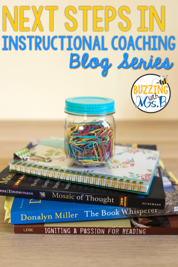 Buzzing With Ms B Next Steps In Instructional Coaching Giveaway