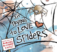 I'm Trying to Love Spiders by Bethany Barton book cover