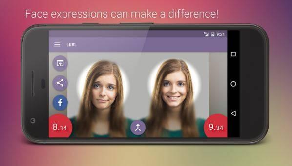 LKBL, ecco l'applicazione che misura la tua bellezza su Android