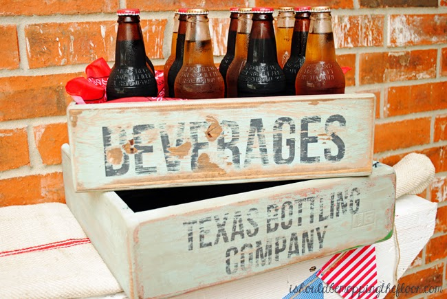 Wooden Soda Crates