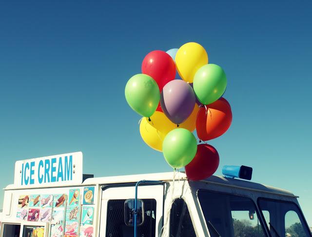 Ice Cream Truck Themed Birthday Party