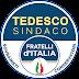 """Elezioni Civitavecchia 2019, ecco il nuovo simbolo di Fratelli d'Italia: c'è scritto """"Tedesco sindaco""""."""