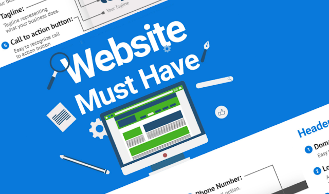 50 Features Every Small Business Website Must Have [Infographic]