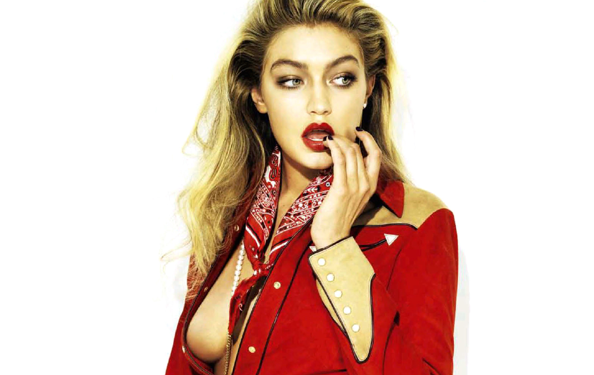 se busca: gigi hadid by henrique gendre for s moda 4th october 2014