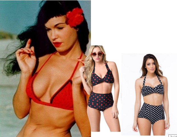 Swimsuits in Retro Design