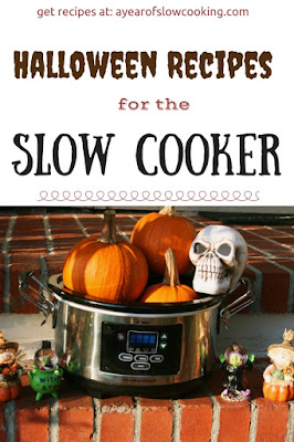 Plan your entire party! 11 Slow Cooker Recipes all Halloween Themed. I love my crockpot and am so excited to do this!
