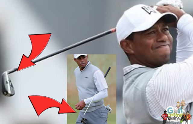 GolfCentralDaily- Golf Parody Fun Gossip Jokes Betting Tips: Tiger Woods Has New GAPR LO Driving Iron And Ardmore Putter At Carnoustie