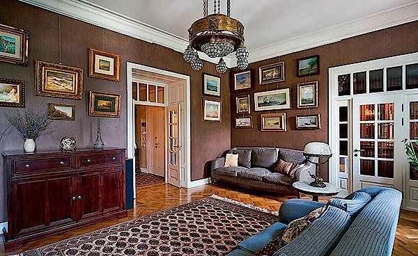 Desain interior rumah antik dan juga minimalis