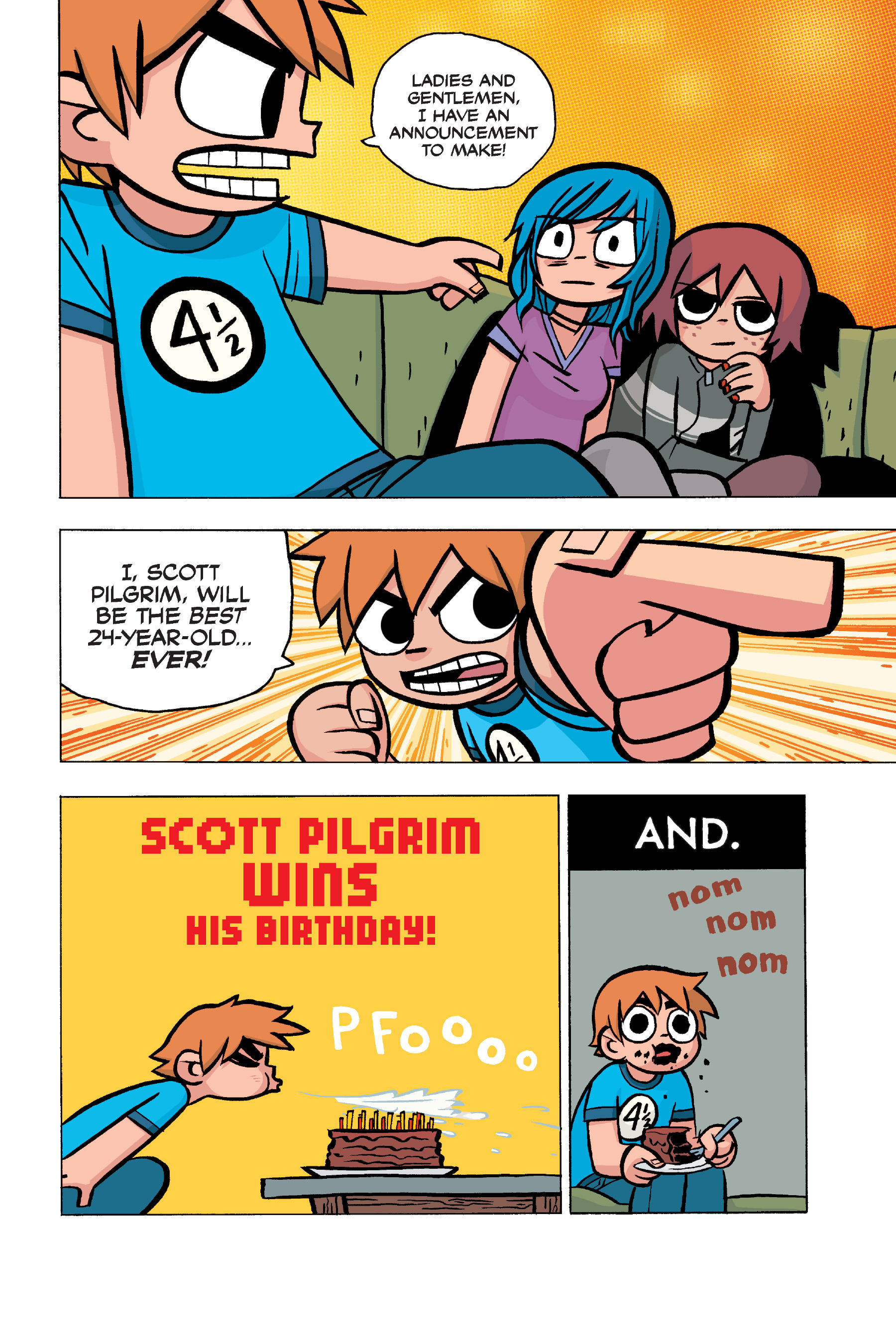 Read online Scott Pilgrim comic -  Issue #5 - 6