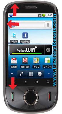 master Reset Huawei U8150 IDEOS