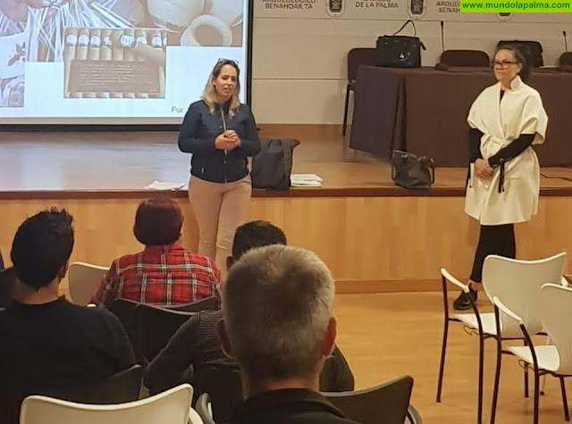 El Cabildo evalúa las principales inquietudes y demandas del sector artesanal de La Palma