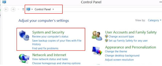 How to set PATH in Windows 8 operating System