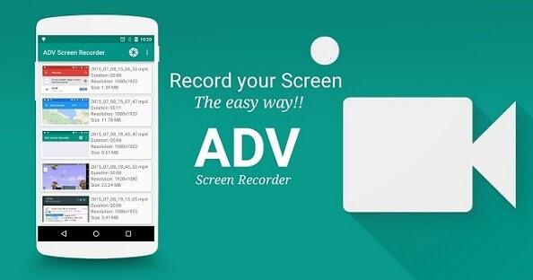 تحميل افضل 3 تطبيقات مجانية لتصوير الشاشة فيديو للاندرويد بدون روت 2018
