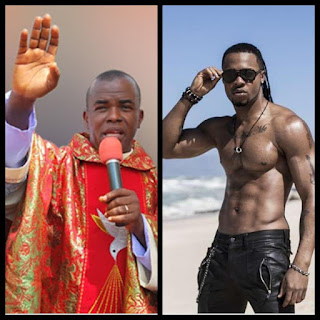 Rev. Fr. Mbaka And Flavour N'abania