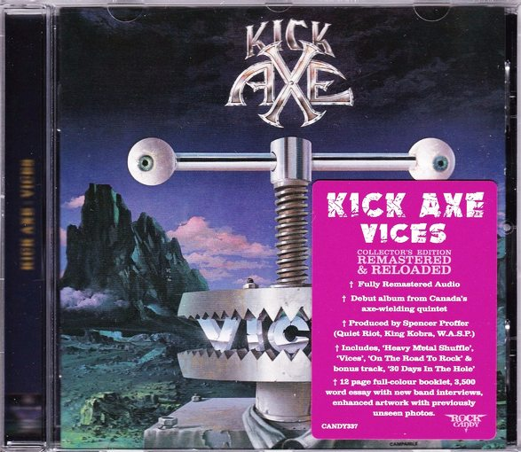 KICK AXE - Vices [Rock Candy remastered +1] (2016) full