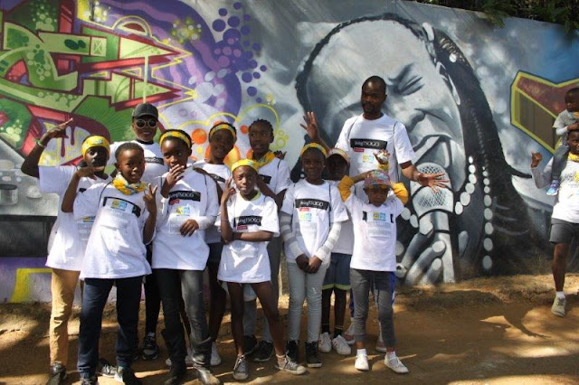 Diepsloot Kids Walk the Talk with @MontecasinoZA #TsogoCSI