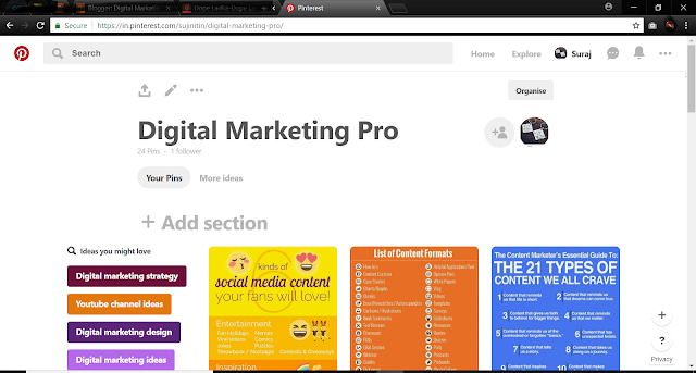 Image promotion technique
