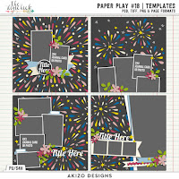 Template : Paper Play 18 by Akizo Designs
