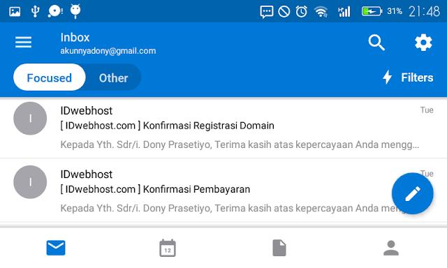Bosan dengan Gmail? Gunakan Aplikasi Outlook di Smartphone