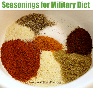 Seasonings for Military Diet