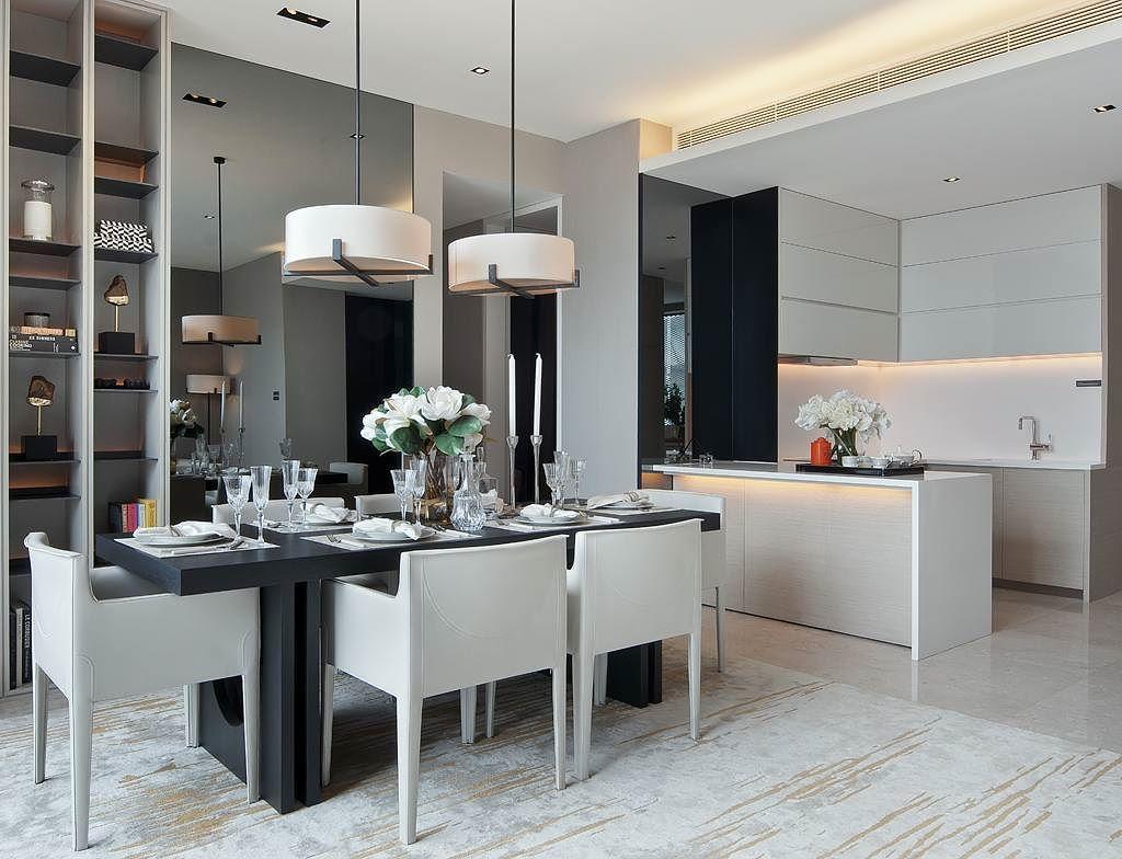 Desain Interior Apartemen Murah Interior Ruang Makan